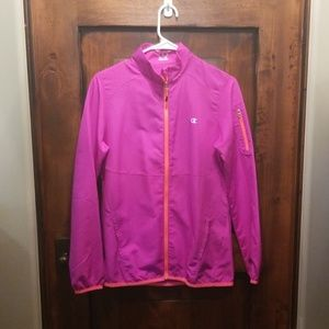 Light weight athletic jacket